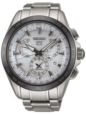 Mens Seiko Astron ceramic world time SSE047J1 Watch