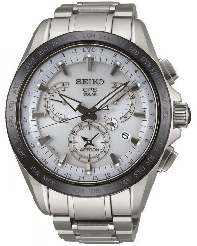Mens Seiko Astron ceramic world time SSE047J1 Watch