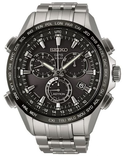 Mens Seiko Astron GPS Satellite Controlled Chrono SSE003J1 Watch