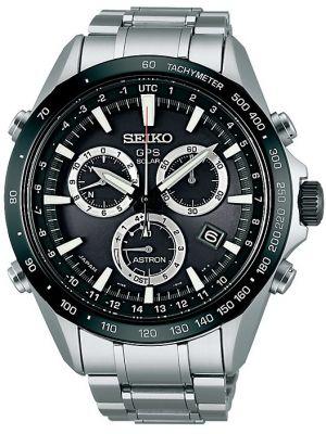 Mens Seiko Astron GPS Satellite Controlled Chrono SSE011J1 Watch