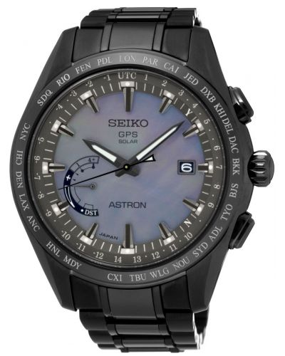 Mens Seiko Astron GPS Solar Worldtime Limited Edition SSE091J1 Watch