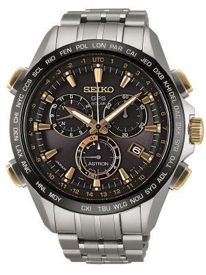 Mens Seiko Astron GPS Satellite Controlled Chrono SSE007J1 Watch