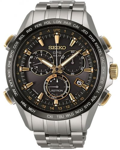 Mens Seiko Astron GPS Satellite Controlled Chrono SSE007J1 Watch