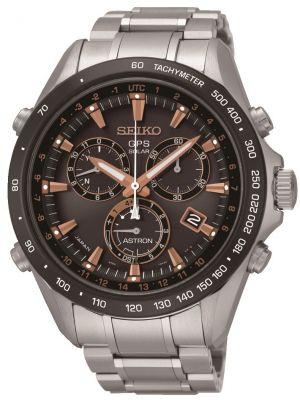 Mens Seiko Astron GPS Satellite Controlled Chrono SSE033J1 Watch