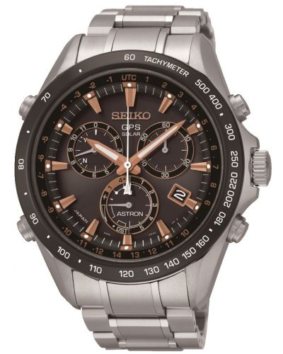 Mens Seiko Astron GPS Satellite Controlled Chrono SSE033J1 Watch