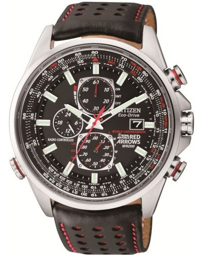Mens Citizen Red Arrows Eco-Drive World Chronograph A.T  AT8060-09E Watch