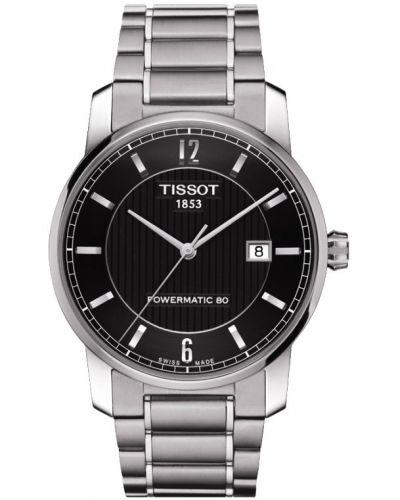 Mens Tissot Titanium Auto Powermatic 80 Steel T087.407.44.057.00 Watch