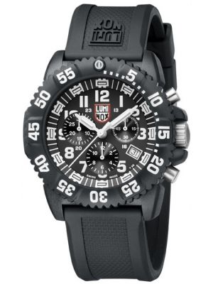 Mens Luminox 3080 Series Colormark Chronograph 3081 Watch