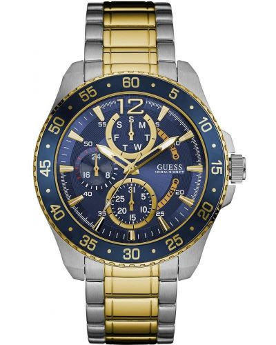 Mens Guess Jet Day & Date Two Tone W0797G1 Watch