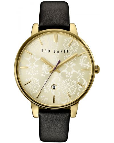 Womens Ted Baker Ladies Oversized Gold Floral Dial TE10030694 Watch