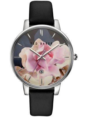 Womens Ted Baker Ladies Oversized Steel Floral TE10030746 Watch