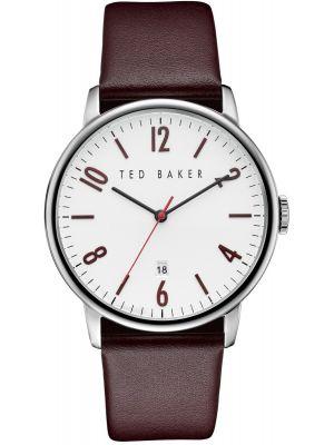 Mens Ted Baker Gents Burgundy Strap TE10030755 Watch