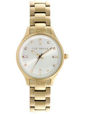Womens Ted Baker Ladies Gold Plated Bracelet TE10025273 Watch
