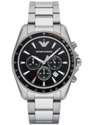 Emporio Armani Sport Steel quartz chronograph AR6098 Watch