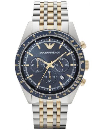 Mens Emporio Armani Sport Diver chrono Two Tone AR6088 Watch