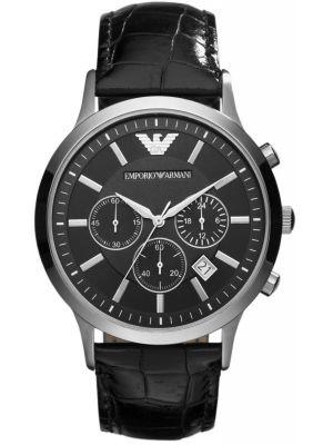 Emporio Armani Classic Black chronograph Strap AR2447 Watch