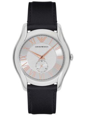 Mens Emporio Armani Dress classically styled Black Strap AR1984 Watch