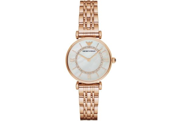 Womens Emporio Armani Retro Watch AR1909