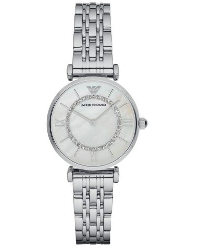 Womens Emporio Armani Retro steel designer dress AR1908 Watch