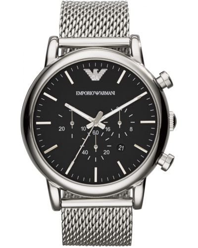 Mens Emporio Armani Classic Large Case chronograph AR1808 Watch