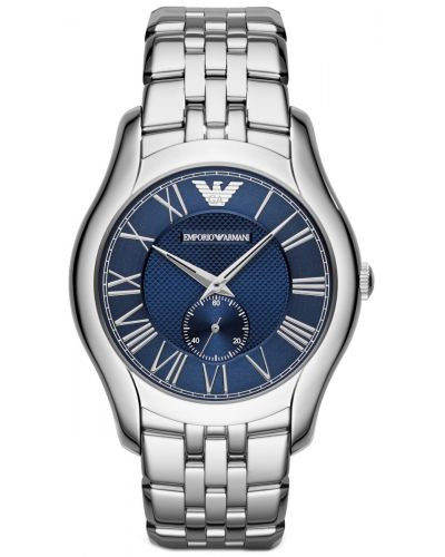 Mens Emporio Armani Classic Blue designer quartz AR1789 Watch
