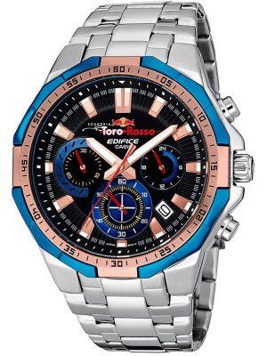 Mens Casio Edifice Toro Rosso Steel EFR-554TR-2AER Watch
