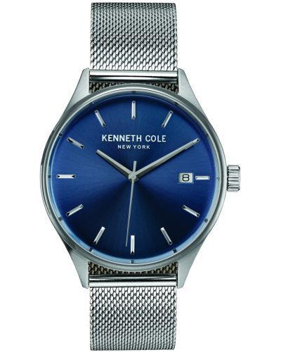 Mens Kenneth Cole Classic Blue Dial on Mesh KC10030837 Watch