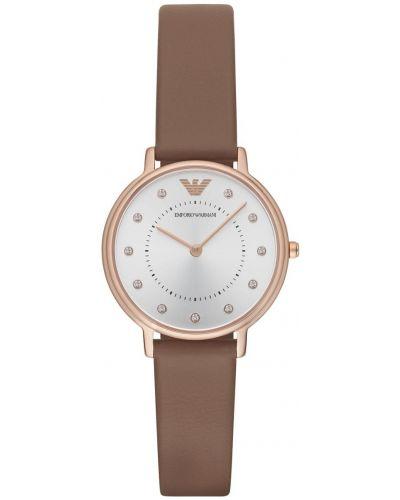 Womens Emporio Armani Dress Rose Gold Gift Set AR8040 Watch