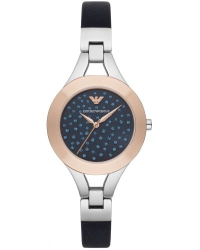 Womens Emporio Armani Dress Blue Crystal Dial AR7436 Watch