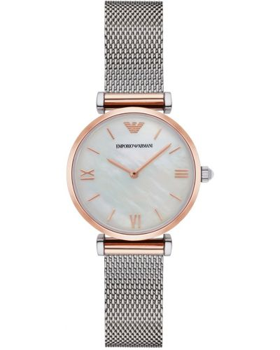 Womens Emporio Armani Retro Steel Mesh AR2067 Watch