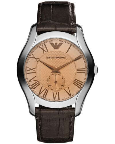 Mens Emporio Armani Classic Brown Strap Roman Dial AR1704 Watch