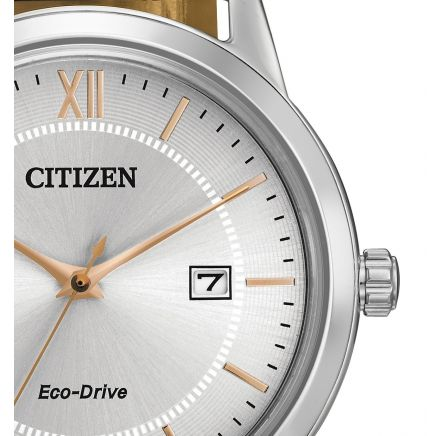 mens citizen leather strap aw1236 03a watch buy citizen