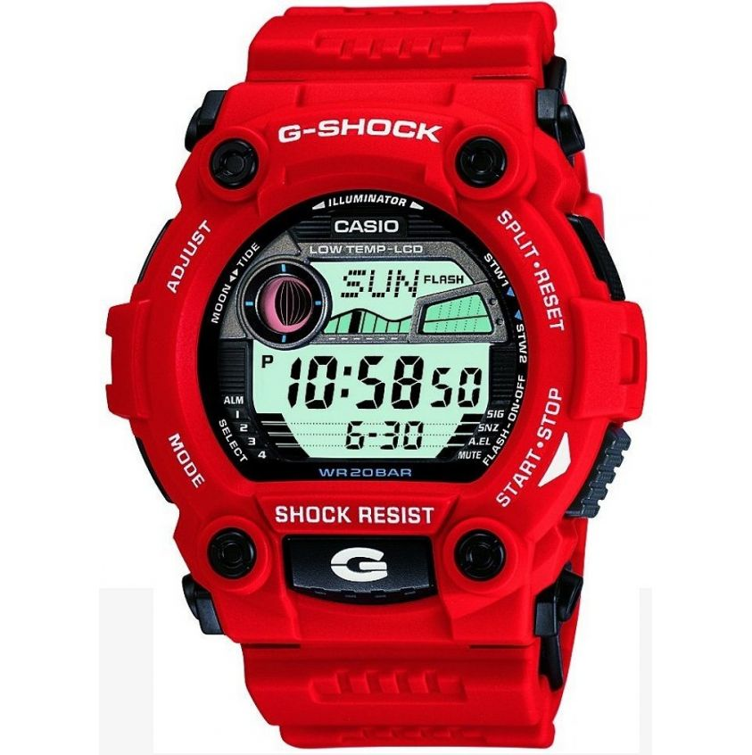 mens casio g shock red and black g 7900a 4er watch buy. Black Bedroom Furniture Sets. Home Design Ideas