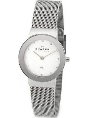 Womens Skagen Freja stainless steel crystal set 358SSSD Watch