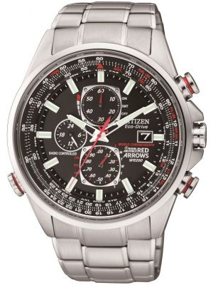 Mens Citizen Eco-Drive Red Arrows World Chronograph A.T  AT8060-50E Watch