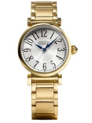 Womens Coach Madison Fashion Gold plated 14501720 Watch