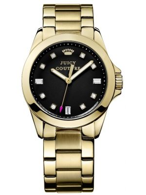 Womens Juicy Couture Stella Gold plated 1901122 Watch