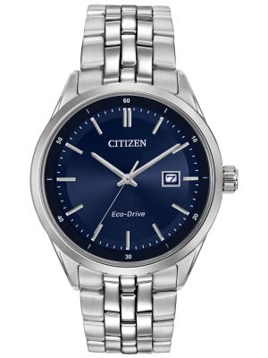 Mens Citizen Blue stainless steel  BM7251-53L Watch