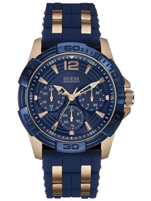 Mens Guess Oasis Blue and rose W0366G4 Watch