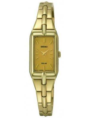 Womens Seiko Solar Gold plated SUP276P9 Watch