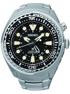 Mens Seiko Prospex kinetic diver steel SUN019P1 Watch