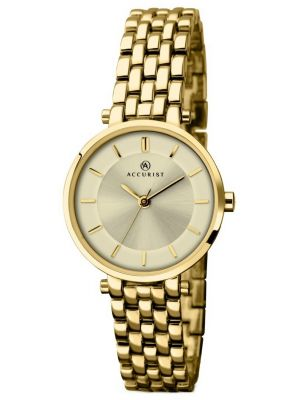 Womens Accurist Classic Gold Plated 8008.00 Watch