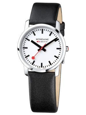 Womens Mondaine Simply Elegant Classic 36 a400.30351.11sbb Watch
