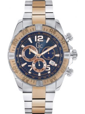 Mens GC Sports Class two toned chronograph Y02002G7 Watch