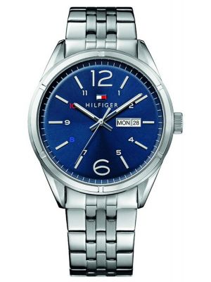 Mens Tommy Hilfiger Charlie polished stainless steel 1791061 Watch