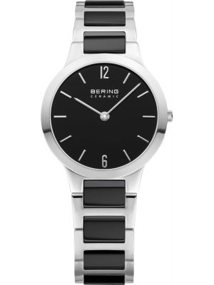 Womens Bering Ceramic black stainless steel 30329-742 Watch