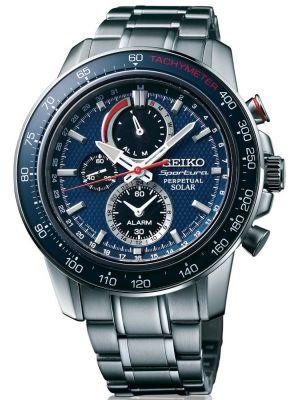 Mens Seiko Sportura solar SSC355P1 Watch