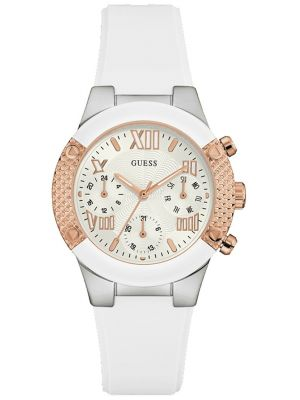 Womens Guess designer stainless steel W0773L1 Watch