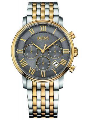 Mens Hugo Boss Elevation stainless steel quartz 1513325 Watch