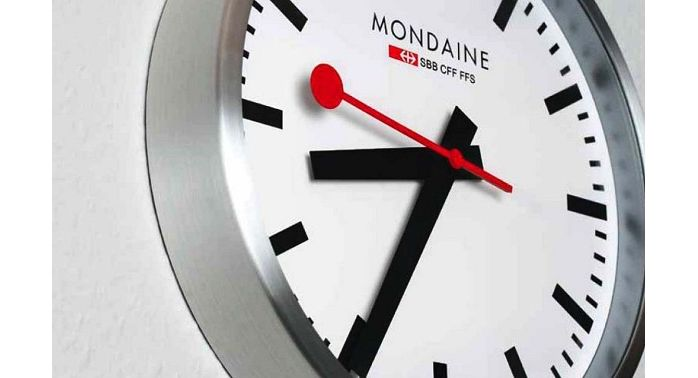 Ingenious swiss railway clock blog - Swiss railway wall clock ...